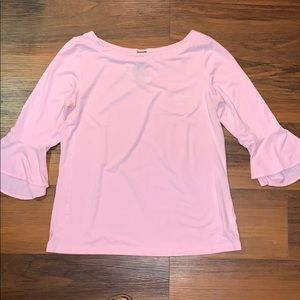 Lilly Pulitzer Fontaine Top Pink M